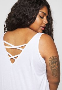 New Look Curves - CROSS BACK  - Top - white - 5