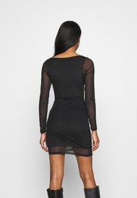 Topshop - MINI - Shift dress - black - 2