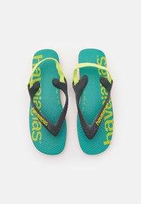 Havaianas - LOGOMANIA UNISEX - T-bar sandals - begonia orange - 0