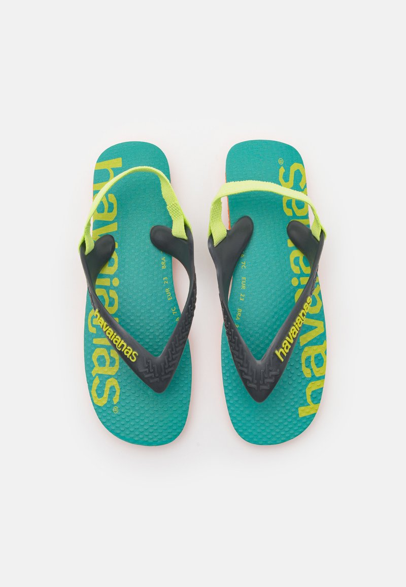 Havaianas - LOGOMANIA UNISEX - T-bar sandals - begonia orange