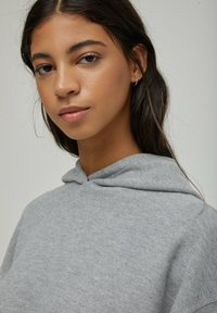 PULL&BEAR - Sweat à capuche - grey - 4