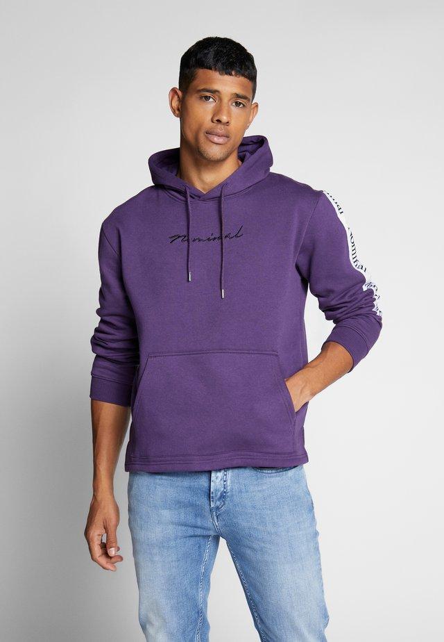 ARCHER HOOD - Sweat à capuche - purple
