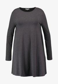 Zalando Essentials Curvy - Jersey dress - dark grey melange - 5