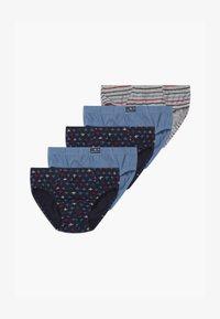 OVS - BRIEFS 5 PACK - Briefs - dark blue/blue/grey - 0