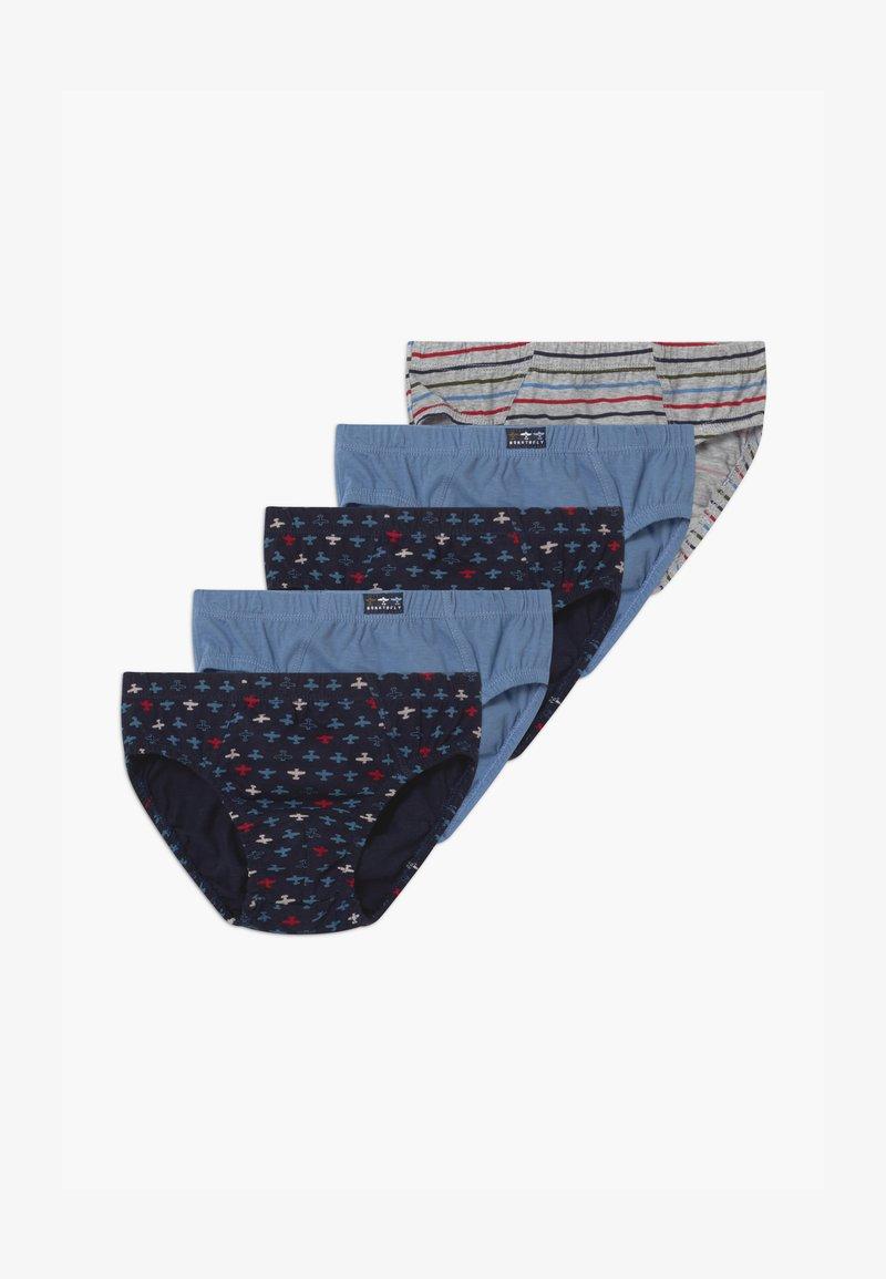 OVS - BRIEFS 5 PACK - Briefs - dark blue/blue/grey
