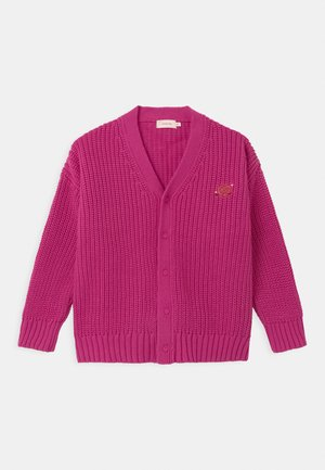 PRETZEL CHUNKY UNISEX - Cardigan - bubble gum pink