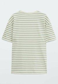 Massimo Dutti - Print T-shirt - green - 1