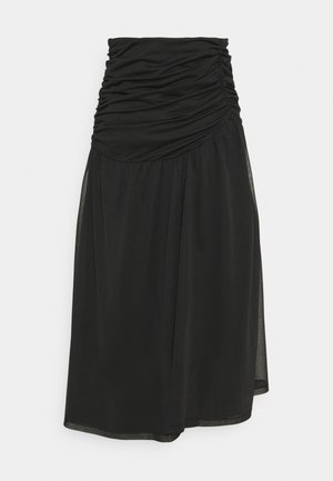 LIANNE SKIRT - A-line skirt - schwarz