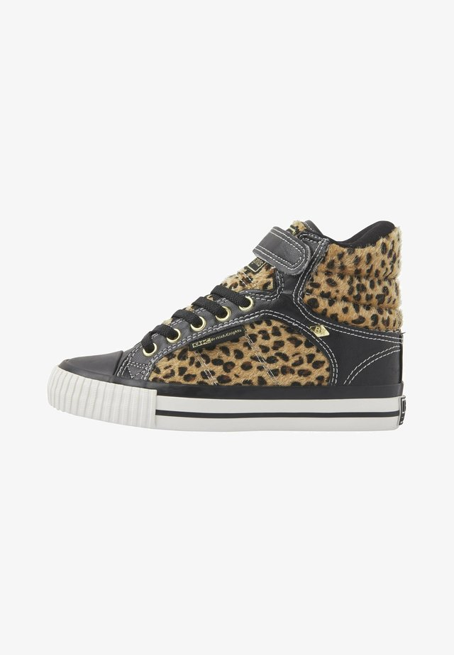 ATOLL - Sneakers laag - leopard/black