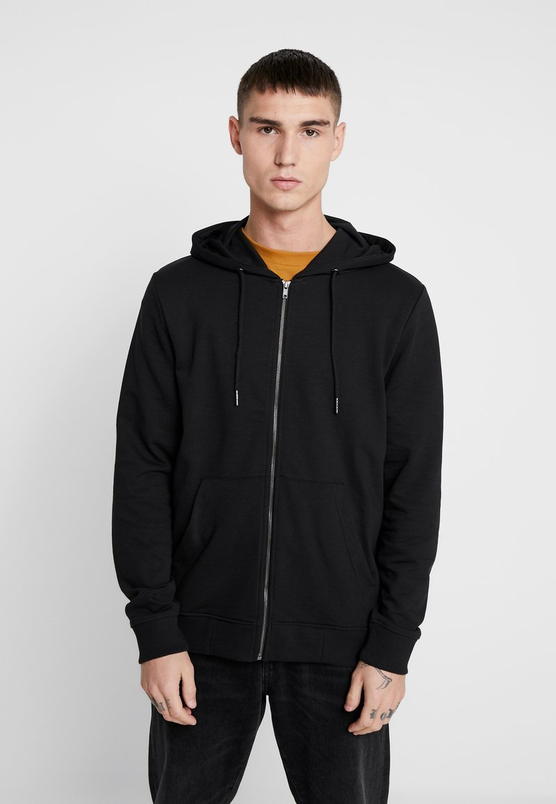 Only & Sons - ONSWINSTON ZIP HOODIE - Bluza rozpinana - black