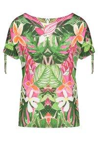 Gerry Weber Casual - T-shirt med print - violet/pink/green - 3