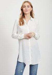 Vila - Button-down blouse - white - 0