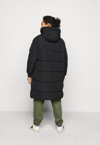Pieces Curve - PCSEVIGNE PADDED JACKET - Winter coat - black - 2