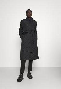 Bruuns Bazaar - AZAMI LINETTE COAT  - Winter coat - black - 0