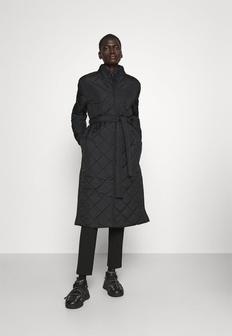 Bruuns Bazaar - AZAMI LINETTE COAT  - Winter coat - black