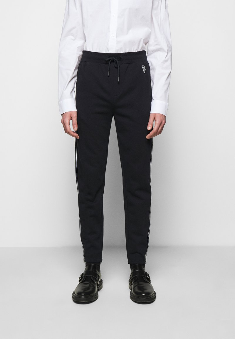 KARL LAGERFELD - PANTS - Pantaloni sportivi - midnight blue