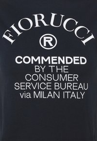 Fiorucci - COMMENDED CROP TEE - T-shirt con stampa - navy - 2
