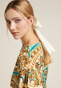 Luisa Spagnoli - Day dress - var turchese/cammell - 3
