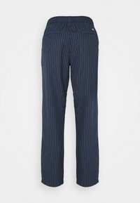 Tommy Jeans - PINSTRIPE PANT - Trousers - twilight navy/white - 7