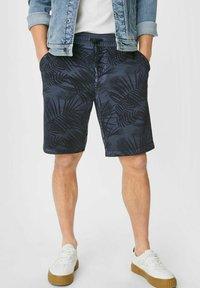 C&A - Shorts - dark blue - 0