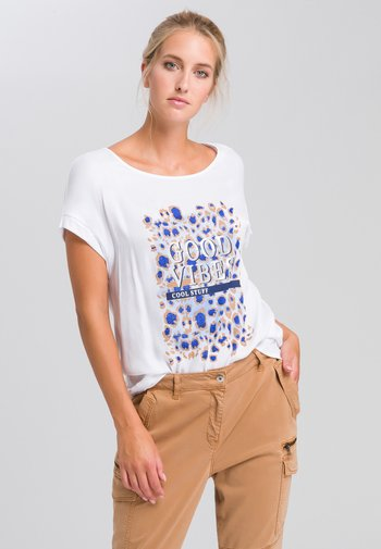 ANIMALPRINT - Print T-shirt - white