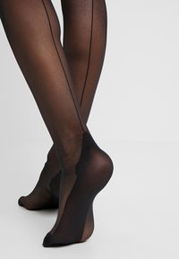 Playful Promises - SEAMED STOCKING - Over-the-knee socks - black - 3
