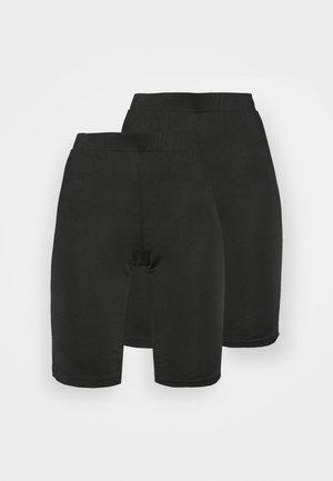 NMMEGAN BIKER 2 PACK - Shorts - black