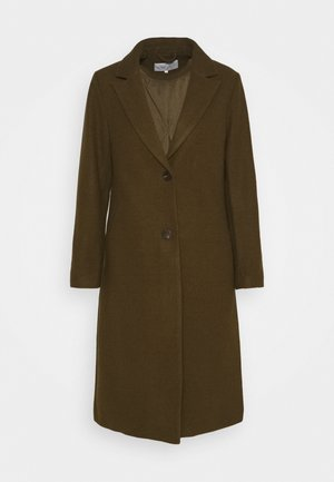 VIMILES BUTTON COAT - Frakker / klassisk frakker - dark olive