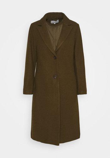 VIMILES BUTTON COAT - Klasyczny płaszcz - dark olive