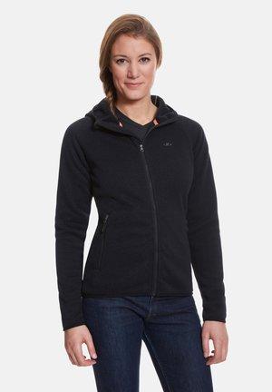 GLORIA - Fleece jacket - black