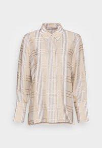 IVY & OAK - DARLA - Button-down blouse - beige - 3
