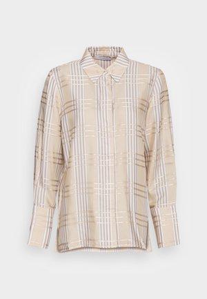 DARLA - Button-down blouse - beige