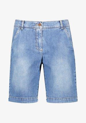 Jeans Short / cowboy shorts - blue denim mit use