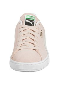Puma - SUEDE CLASSIC - Sneakers - peachskin/puma white - 6