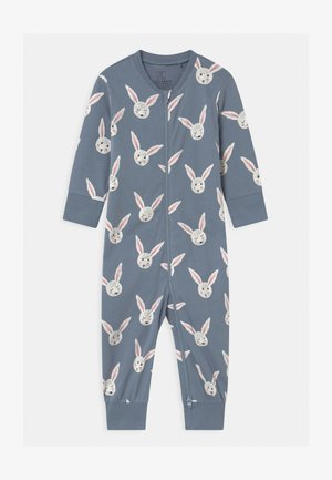 RABBIT FACES UNISEX - Pyjama - dusty blue