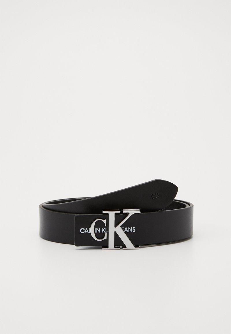 Calvin Klein Jeans - MONOGRAM HARDWARE - Cinturón - black