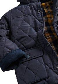 Next - KHAKI QUILTED JACKET (3MTHS-7YRS) - Winter jacket - blue - 2