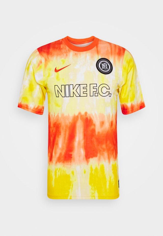 FC - Print T-shirt - electro orange