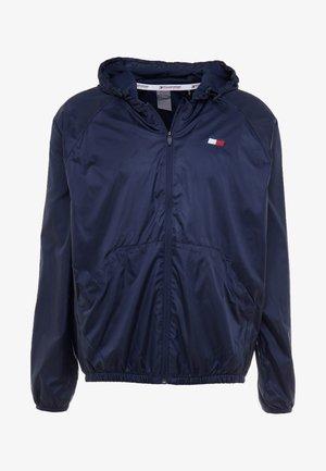 LINED WINDBREAKER - Training jacket - blue