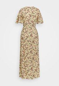 Miss Selfridge - SLEEVE BUTTON THROUGH MAXI - Day dress - light yellow - 1