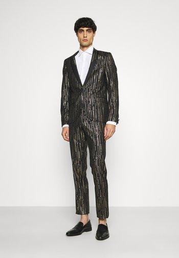 SAGRADA SUIT - Kostym - black/gold