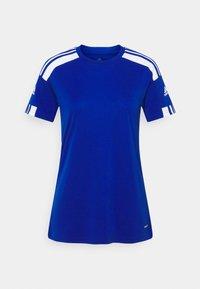 adidas Performance - SQUADRA 21 - T-shirts med print - royal blue/white - 5