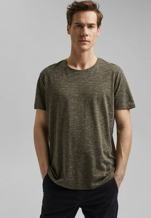 FASHION - T-shirt imprimé - dark khaki