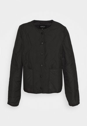 ONLJASMIN QUILTED JACKET - Light jacket - black
