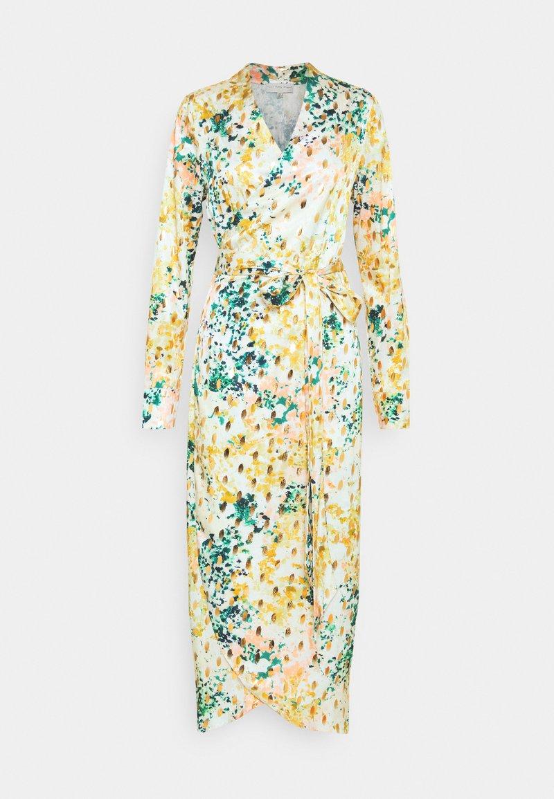 Never Fully Dressed Tall - LONGSLEEVE DRESS - Vapaa-ajan mekko - green/multi