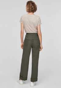 QS by s.Oliver - Trousers - khaki - 2
