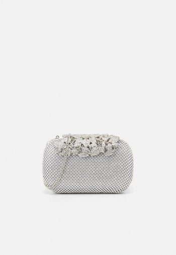 KATIE EMBELLISHED CLASP CLUTCH