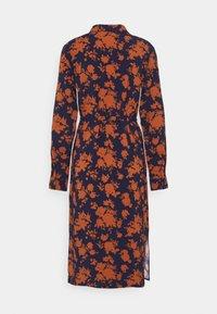 Anna Field - Day dress - dark blue/orange - 1