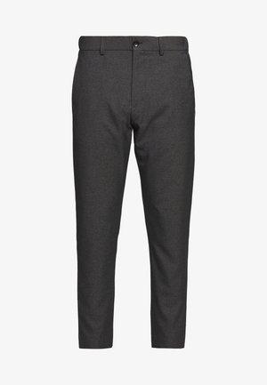 WINTER MELANGE - Trousers - dark grey