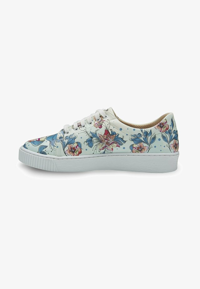 NATURE FLOWERS - Sneakers laag - multicolor